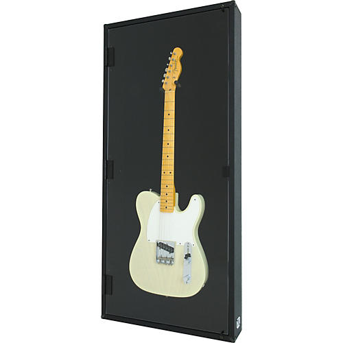 Display and Play The Blackout Electric Guitar Display Case