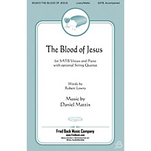 Fred Bock Music The Blood of Jesus String Quartet Composed by Daniel Mattix