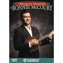 Homespun The Bluegrass Mandolin of Ronnie McCoury (DVD)