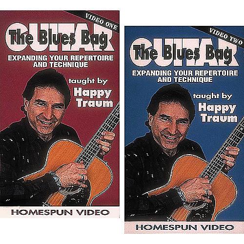 Homespun The Blues Bag 2-Video Set (VHS)