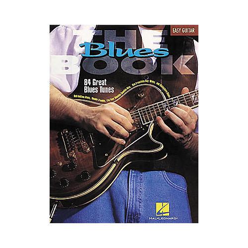 Hal Leonard The Blues Easy Guitar Book