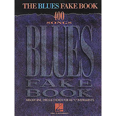 Hal Leonard The Blues Fake Book