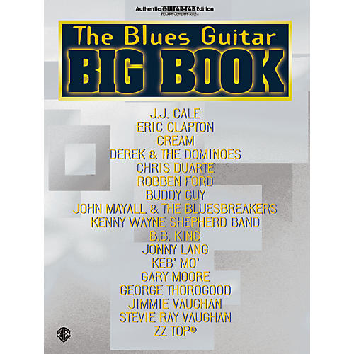 Alfred The Blues Guitar Big Book