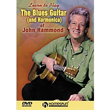 Homespun The Blues Guitar & Harmonica of John Hammond (DVD)