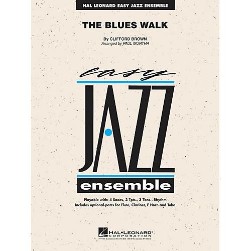 Hal Leonard The Blues Walk Jazz Band Level 2 Arranged by Paul Murtha