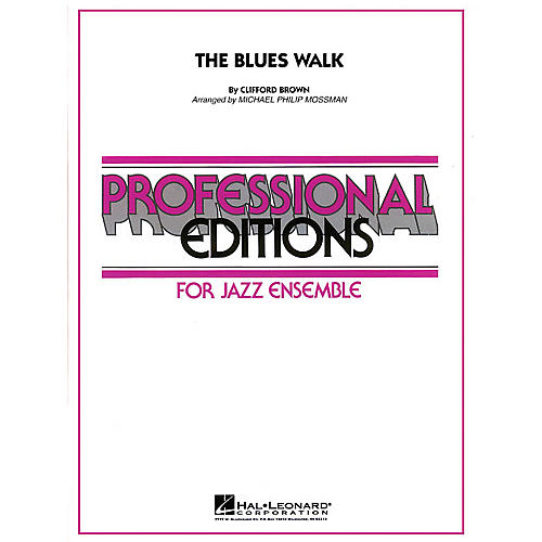 Hal Leonard The Blues Walk Jazz Band Level 5 Arranged by Michael Philip Mossman