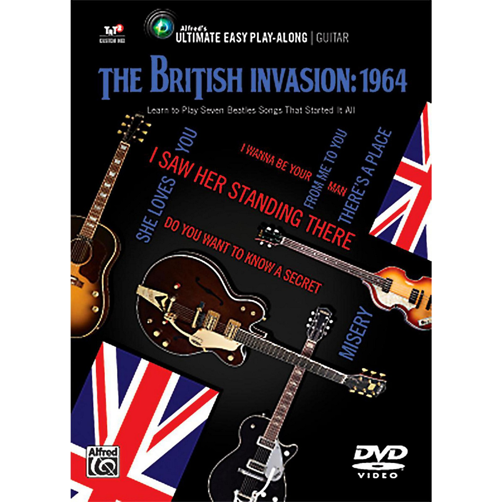 Alfred The British Invasion 1964 - Ultimate Easy Guitar Play-Along DVD