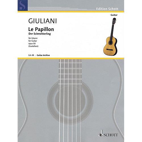 Schott The Butterfly, Op. 50 (32 Easy Pieces for Beginning Guitar) Schott Series