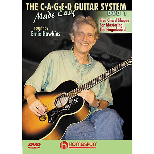 Homespun The C-A-G-E-D Guitar System Made Easy DVD 1