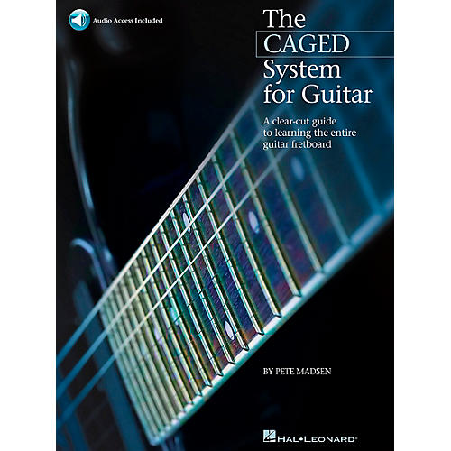 Hal Leonard The Caged System for Guitar - Book/Online Audio Pack