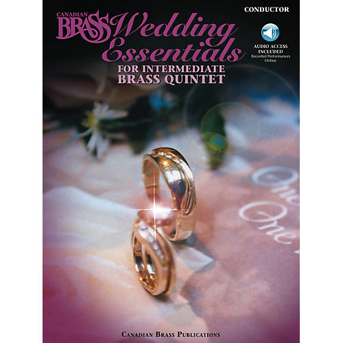 Canadian Brass The Canadian Brass Wedding Essentials Brass Ensemble Series Book Audio Online by The Canadian Brass
