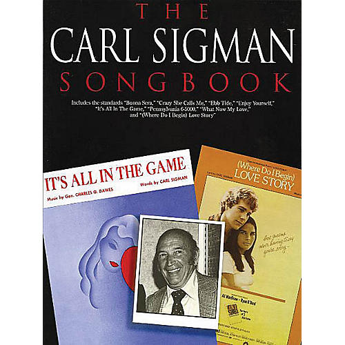 Music Sales The Carl Sigman Songbook Music Sales America Series Softcover