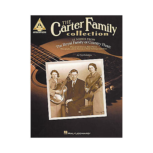 Hal Leonard The Carter Family Collection Guitar Tab Book