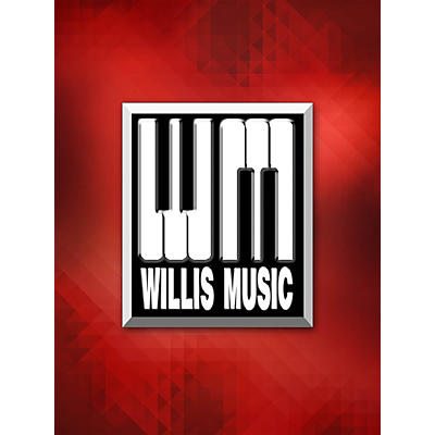 Willis Music The Cascades (2 Pianos, 4 Hands/Early Advanced Level) Willis Series by Scott Joplin
