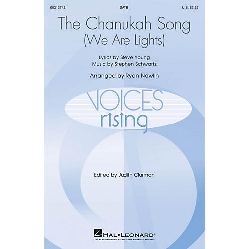 Hal Leonard The Chanukah Song (We Are Lights) SATB arranged by Ryan Nowlin