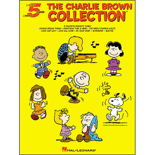 Hal Leonard The Charlie Brown Collection for Five Finger Piano