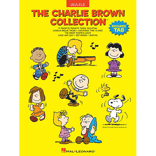 Hal Leonard The Charlie Brown Collection(TM) Ukulele Series Softcover