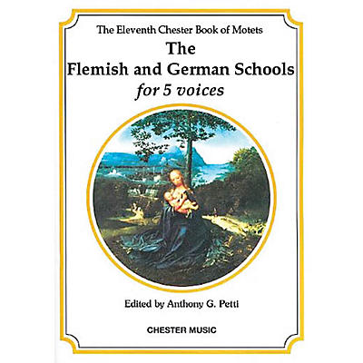 Chester Music The Chester Book of Motets - Volume 11 (The Flemish and German Schools for 5 Voices) SSATB