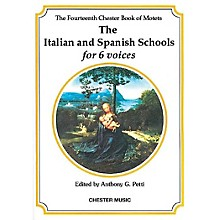 Chester Music The Chester Book of Motets - Volume 14 (The Italian and Spanish Schools for 6 Voices) SSAATB