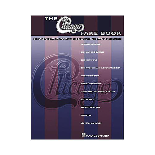 Hal Leonard The Chicago Fake Book