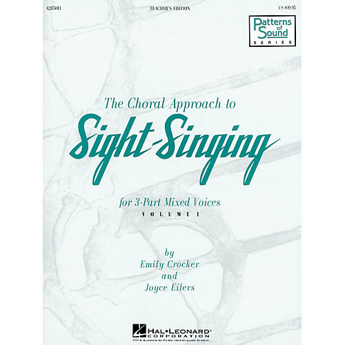 Hal Leonard The Choral Approach to Sight-Singing (Vol. I) TEACHER ED composed by Emily Crocker
