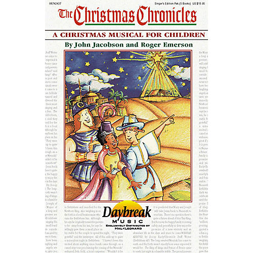 Daybreak Music The Christmas Chronicles Singer 5 Pak composed by Roger Emerson