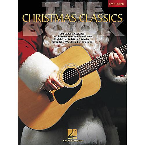 Hal Leonard The Christmas Classics Easy Guitar Tab Songbook