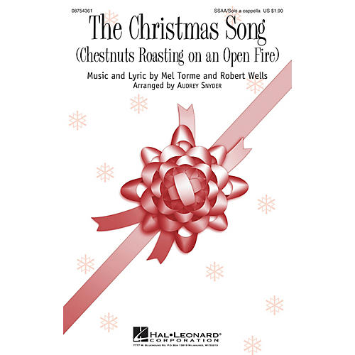 Hal Leonard The Christmas Song (Chestnuts Roasting on an Open Fire) SSAA A Cappella arranged by Audrey Snyder
