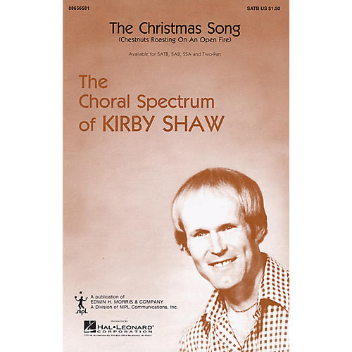 Hal Leonard The Christmas Song (SATB) SATB arranged by Kirby Shaw
