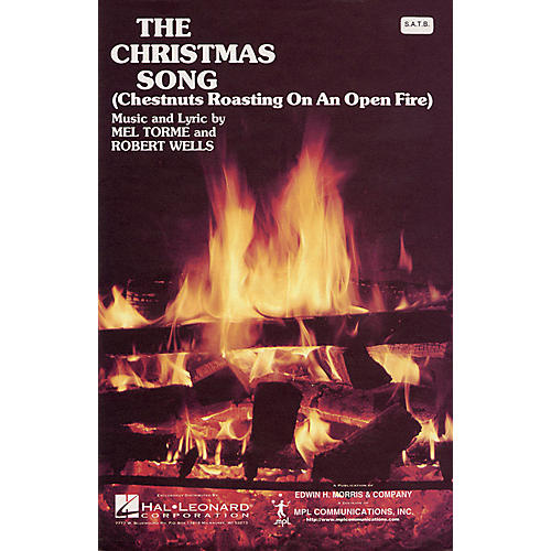 Hal Leonard The Christmas Song (SATB) SATB arranged by Walter Ehret