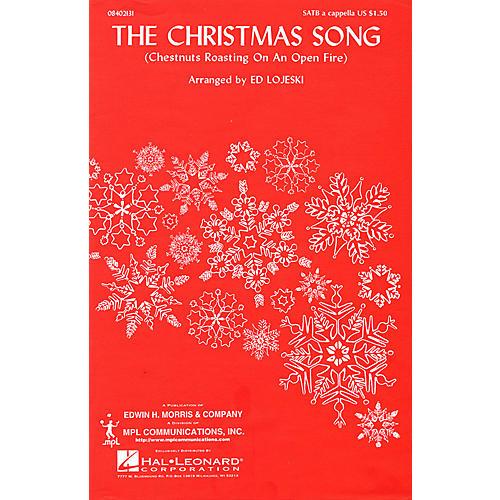 Hal Leonard The Christmas Song (SATB a cappella) SATB arranged by Ed Lojeski