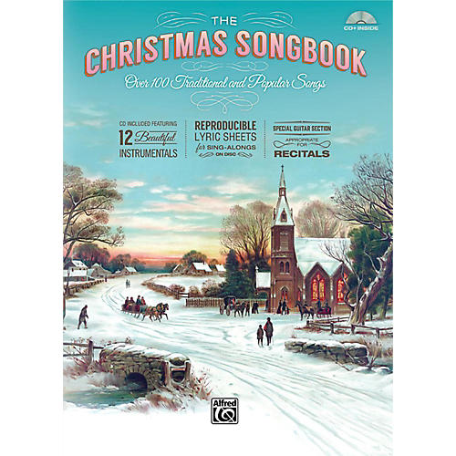 Alfred The Christmas Songbook (Hardcover with Enhanced CD)