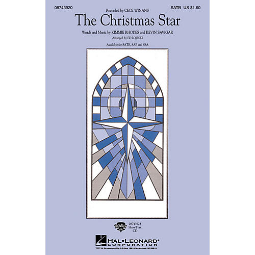 Hal Leonard The Christmas Star ShowTrax CD Arranged by Ed Lojeski