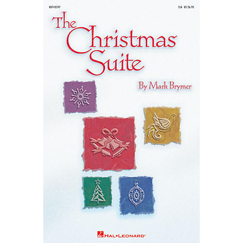 Hal Leonard The Christmas Suite ShowTrax CD Composed by Mark Brymer