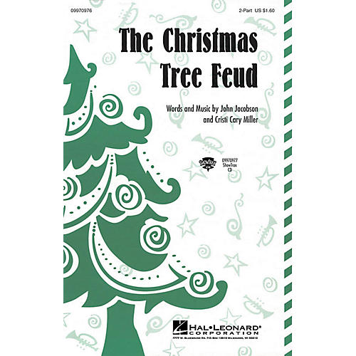 Hal Leonard The Christmas Tree Feud ShowTrax CD Composed by John Jacobson, Cristi Cary Miller