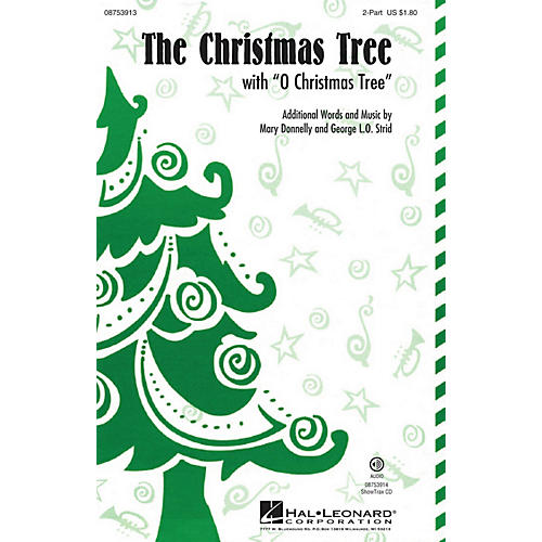 Hal Leonard The Christmas Tree (with O Christmas Tree) ShowTrax CD Composed by Mary Donnelly