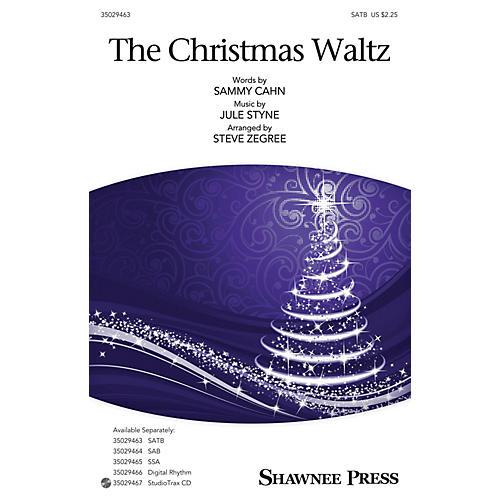 Shawnee Press The Christmas Waltz SATB arranged by Steve Zegree