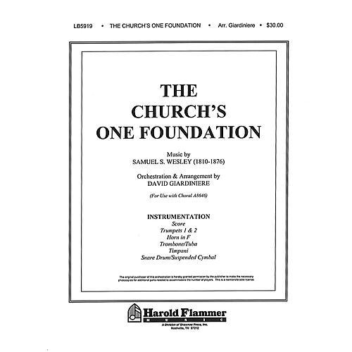 Shawnee Press The Church's One Foundation Instrumental Parts arranged by David Giardiniere