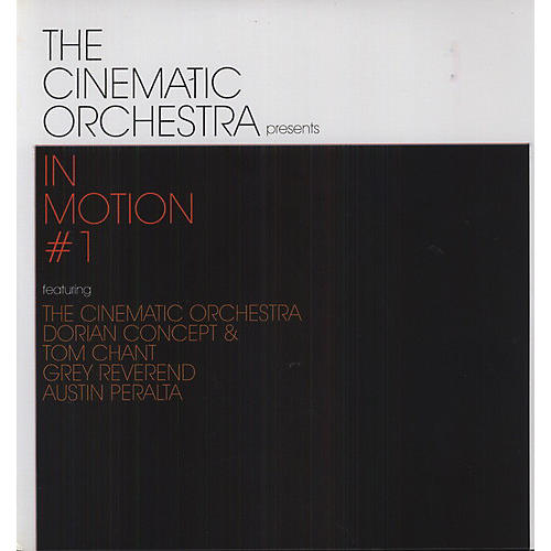 Alliance The Cinematic Orchestra - In Motion #1