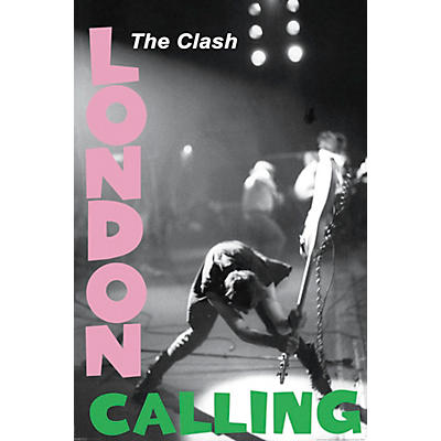 Hal Leonard The Clash - London Calling - Wall Poster
