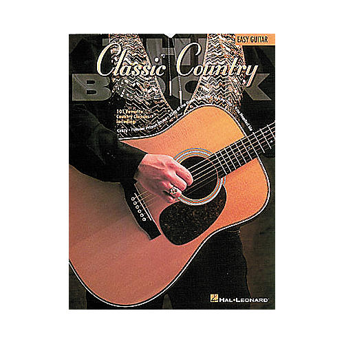 Hal Leonard The Classic Country Book - Guitar Songbook