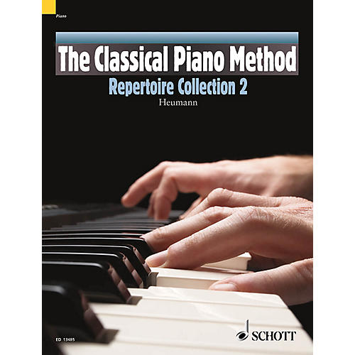 Schott The Classical Piano Method - Repertoire Collection 2 Schott Series Softcover with CD