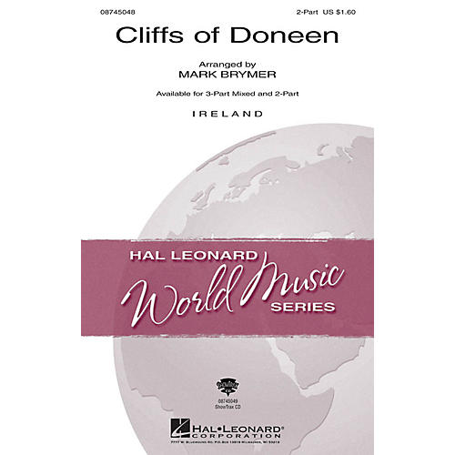 Hal Leonard The Cliffs of Doneen ShowTrax CD Arranged by Mark Brymer
