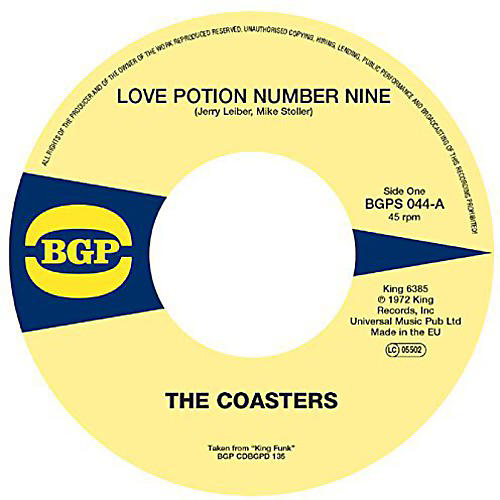 Alliance The Coasters - Love Potion Number Nine / Cool Jerk