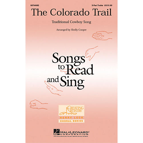 Hal Leonard The Colorado Trail 3 Part Treble arranged by Shelly Cooper
