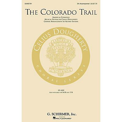 G. Schirmer The Colorado Trail SA arranged by Audrey Snyder