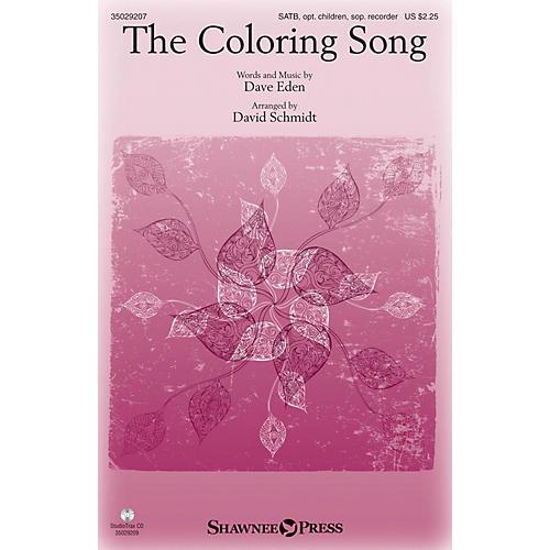 Shawnee Press The Coloring Song (StudioTrax CD) Studiotrax CD Arranged by David Schmidt