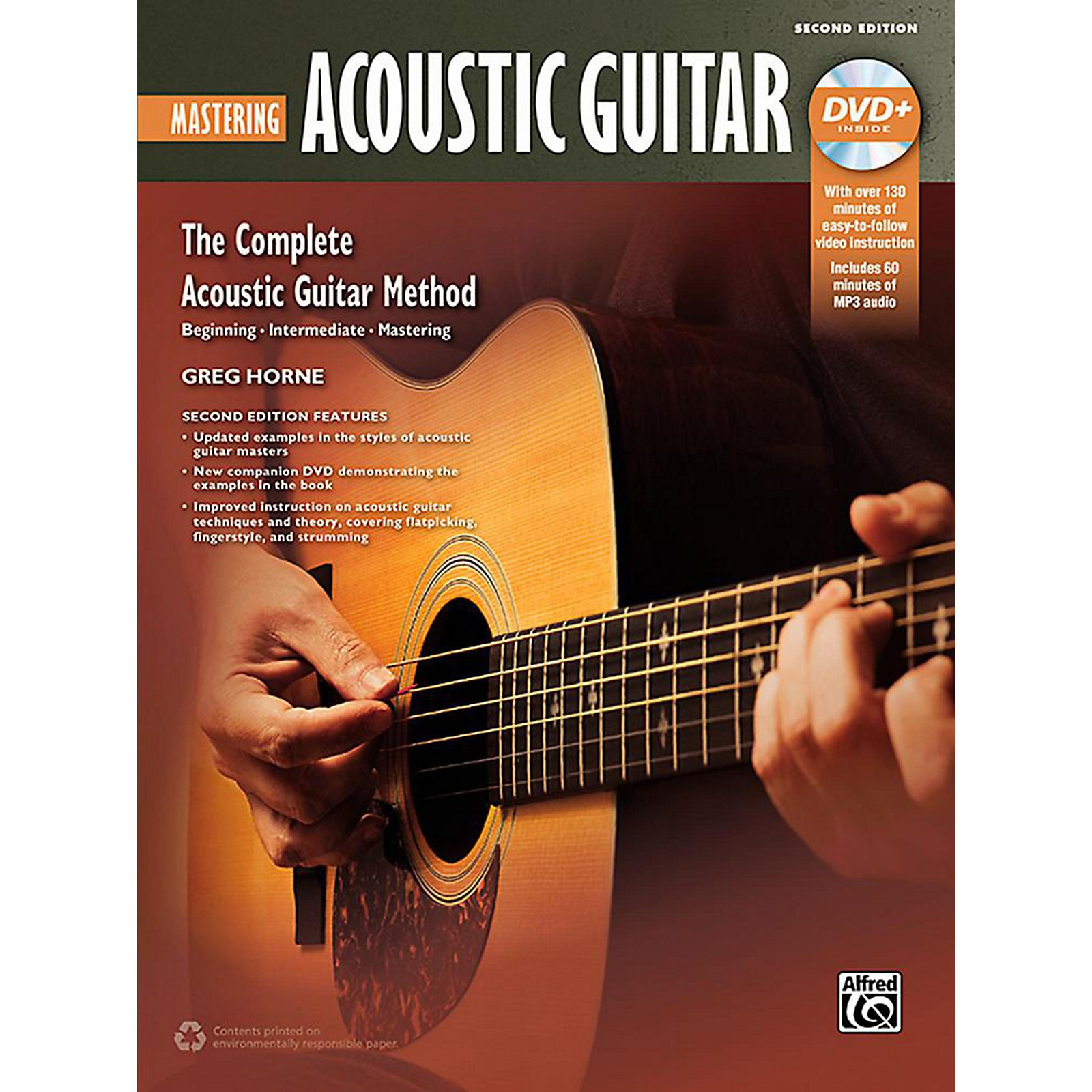 Alfred The Complete Acoustic Guitar Method: Mastering Acoustic Guitar (2nd Edition) - Book & DVD