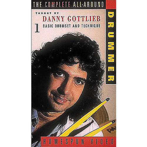 Hal Leonard The Complete All-Around Drummer - Video One