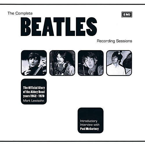 Music Sales The Complete Beatles Recording Sessions